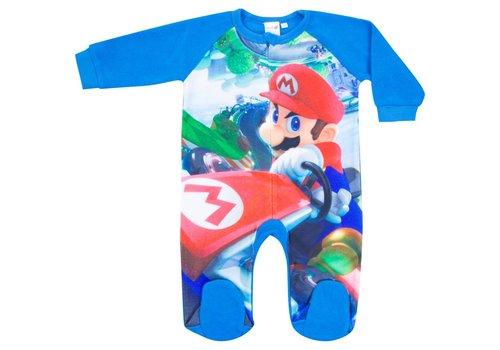 Super Mario - Mario Kart Baby Suit Blue