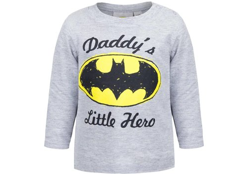Batman - Baby Longsleeve Grey