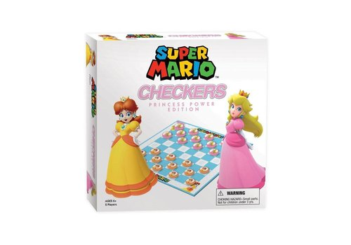 Super Mario - Princess Power Checkers