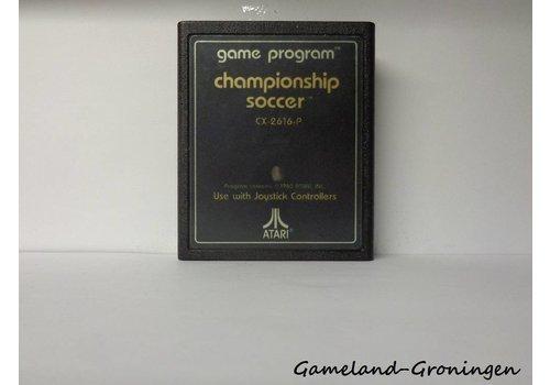 Championship Soccer (Tekst Label)