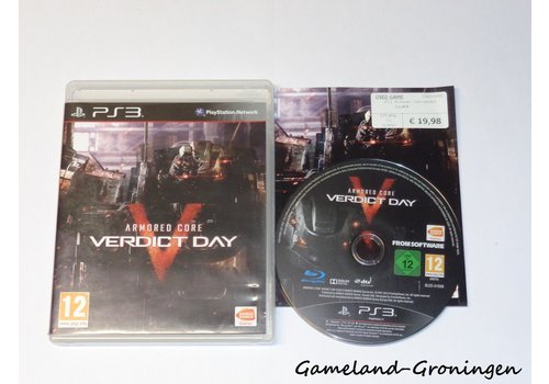 Armored Core Verdict Day (Compleet)