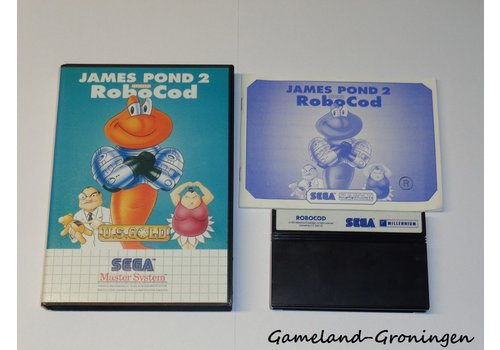 James Pond 2 Codename Robocod (Complete)