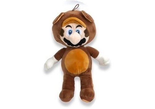 Super Mario - Mario Tanooki Plush 30 cm