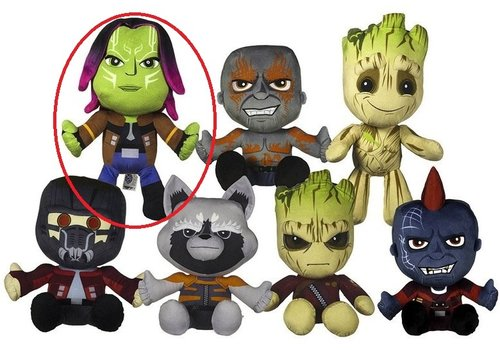 Guardians of the Galaxy - Gamora Knuffel 18 cm