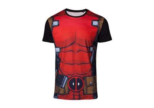 Marvel - Sublimated Deadpool's Suit T-Shirt