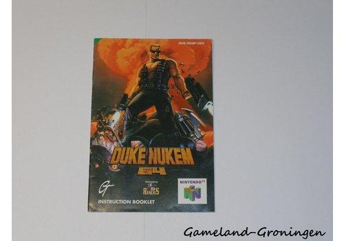 Duke Nukem 64 (Manual, UKV)