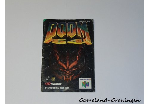 Doom 64 (Manual, UKV)