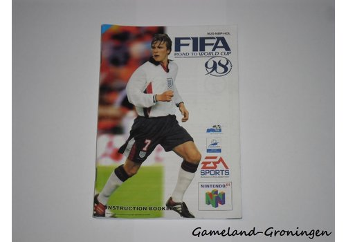 FIFA 98 Road to World Cup (Manual, HOL)