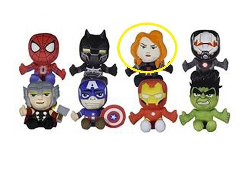 Marvel Avengers - Black Widow Knuffel 18 cm