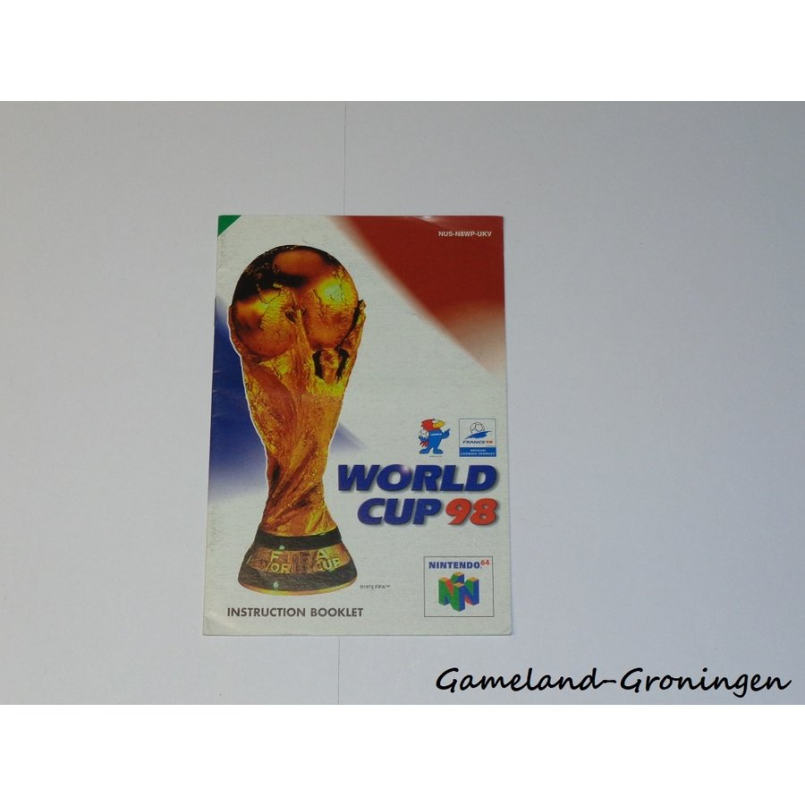 World Cup 98 (Manual, UKV)