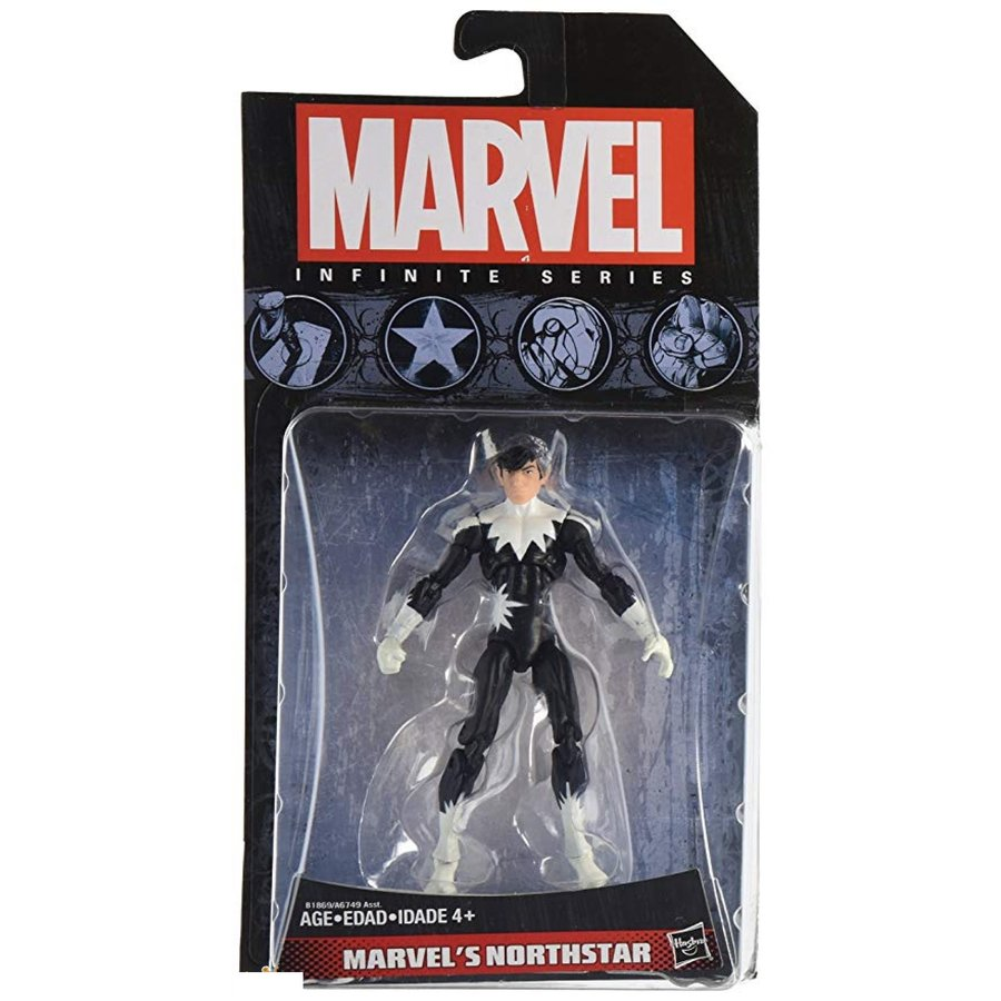 Marvel Infinity Series - Marvel's Northstar Action Figure 10 cm (New)
