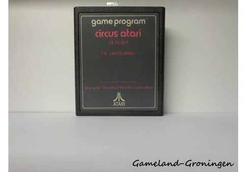Circus Atari (Text Label)