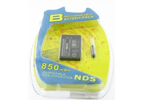 Battery with Nintendo DS screwdriver