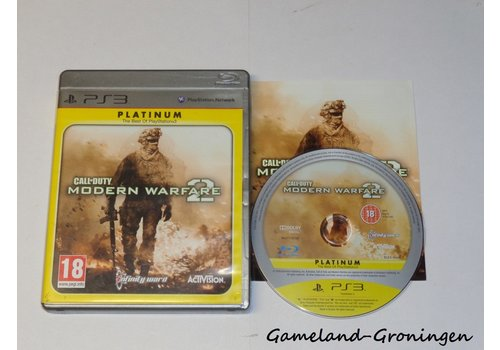 Call of Duty Modern Warfare 2 (Complete, Platinum)
