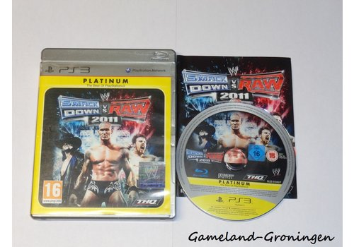 WWE Smackdown vs Raw 2011 (Complete, Platinum)