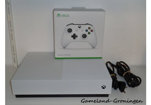 Xbox One S 1 TB All-Digital Edition met Controller & Bedrading (Wit)