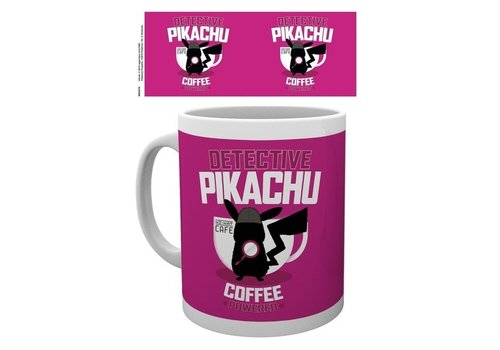 Pokémon - Detective Pikachu Coffee Powered Mok