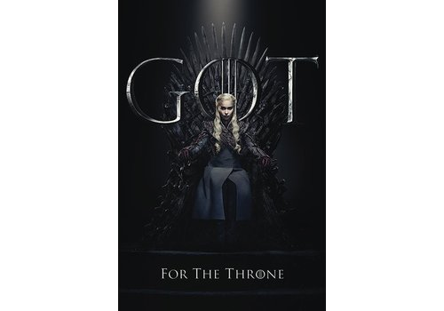 Game of Thrones - Daenerys For the Throne Poster 61 x 91 cm