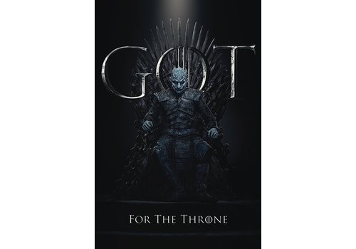 Game of Thrones - Night King For the Throne Poster 61 x 91 cm