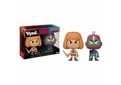 Masters of the Universe Vinyl! - He-Man + Trap Jaw 2-Pack