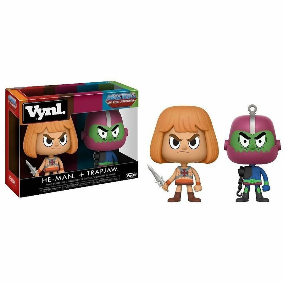 Masters of the Universe POP! Vinyl Figures He-Man & Trap Jaw 2-Pack 9 cm (New)