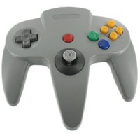 N64 Controller Grey - Third Party (New)