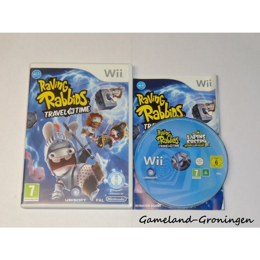 Raving Rabbids Travel in Time (Compleet)
