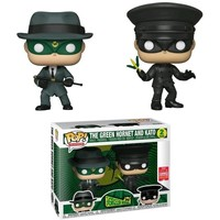The Green Hornet POP! Vinyl Figures The Green Hornet & Kato 9 cm (New)