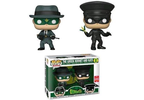 The Green Hornet POP! Vinyl Figures The Green Hornet & Kato 9 cm