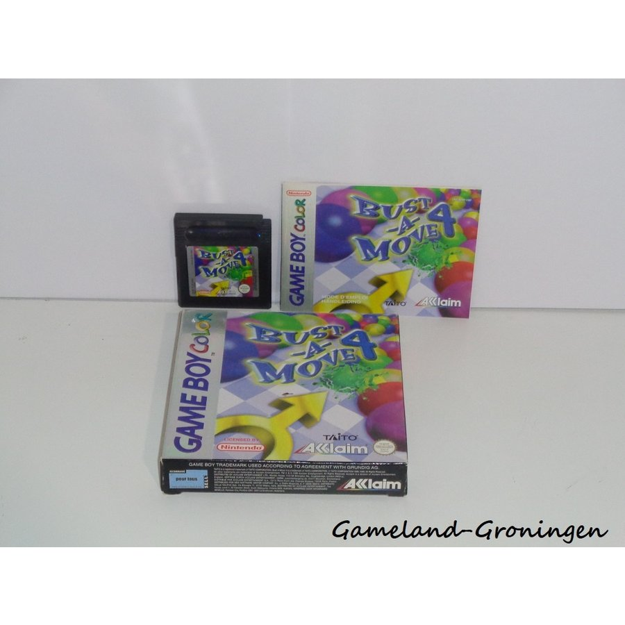 Bust-A-Move 4 (Complete, EUR)