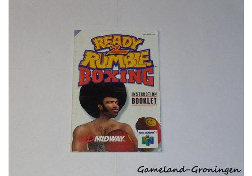 Ready 2 Rumble Boxing (Manual, EUU)