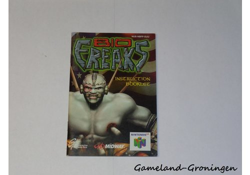 Bio Freaks (Manual, EUU)