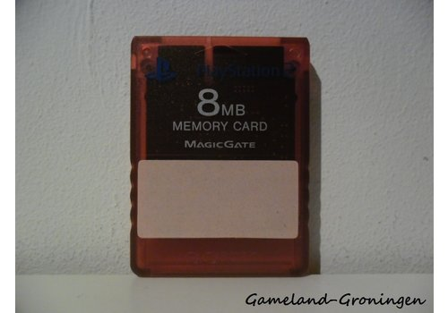 Originele Memorycard 8MB (Rood)