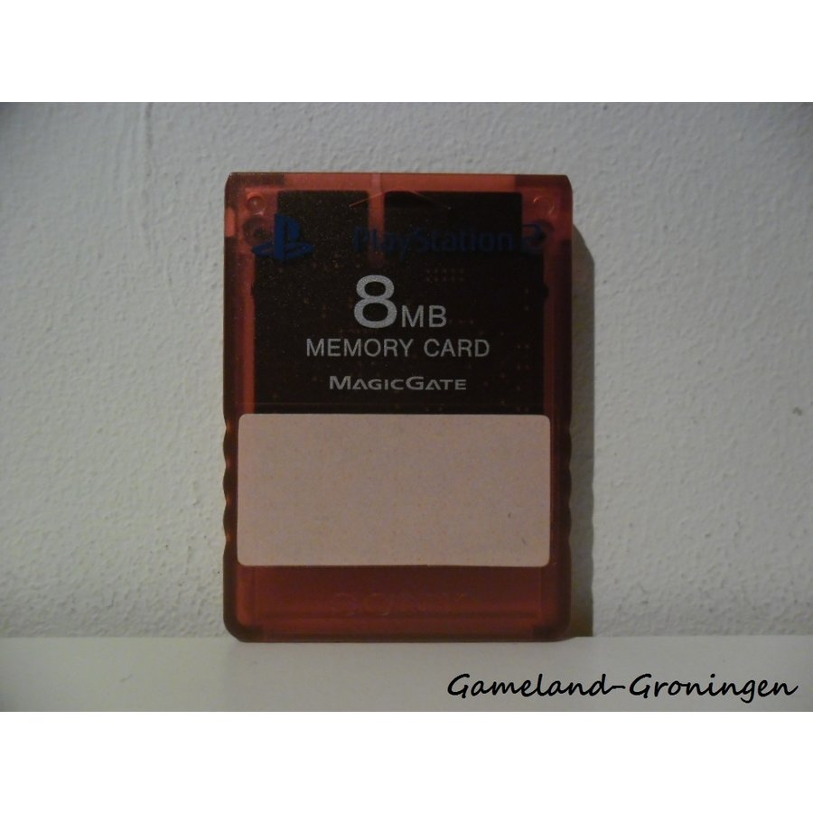 Original Memorycard 8MB (Red)