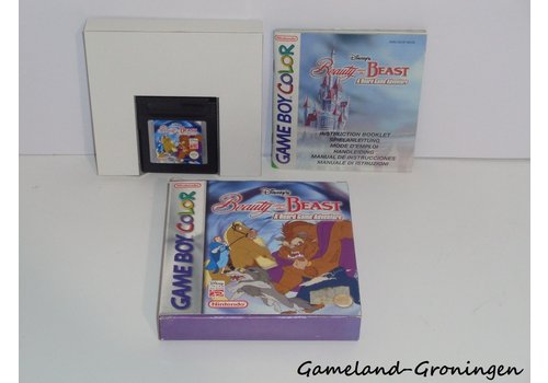 Disney's Beauty and the Beast a Board Game Adventure (Complete, UKV)