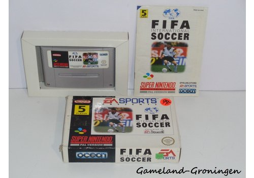 FIFA International Soccer (Compleet, NOE)