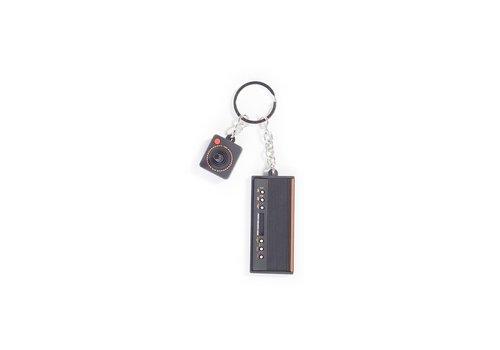 Atari - 3D Console & Joystick Rubber Keychain