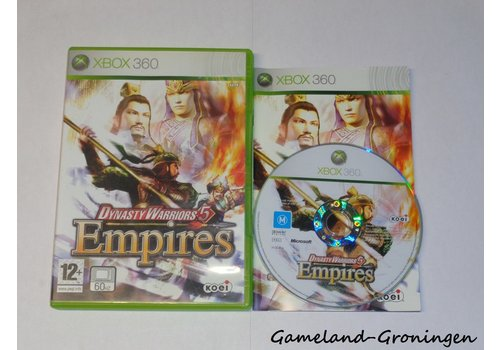 Dynasty Warriors 5 Empires (Complete)