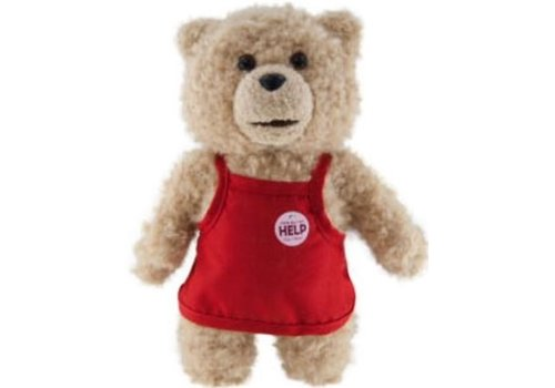 Ted - Talking Ted Apron Knuffel 20 cm