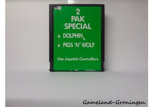 2 Pak Special Dolphin & Pigs 'n' Wolf