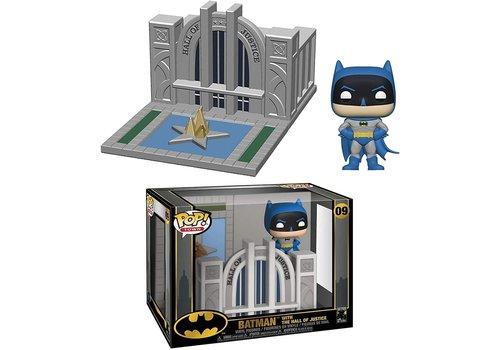 DC Comics POP! Vinyl Figure Batman 80th Hall of Justice with Batman 15 cm