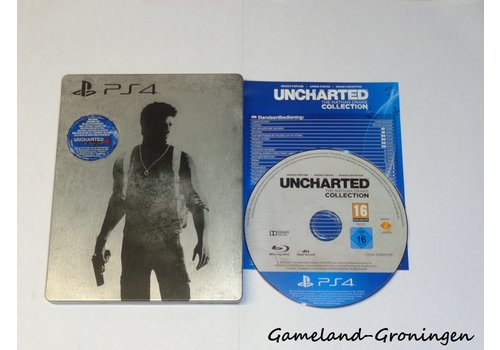 Uncharted The Nathan Drake Collection Steelbook (Compleet)