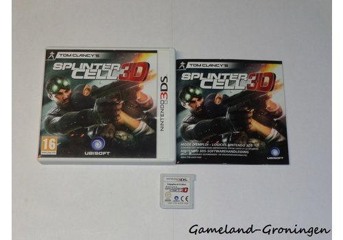 Tom Clancy's Splinter Cell 3D (Compleet, FAH)