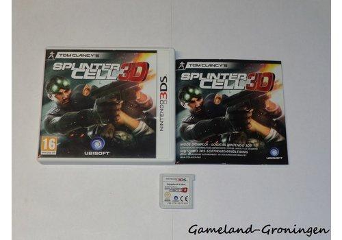 Tom Clancy's Splinter Cell 3D (Complete, FAH)