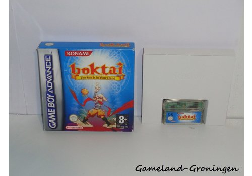 Boktai The Sun is in Your Hand (Boxed, EUR)