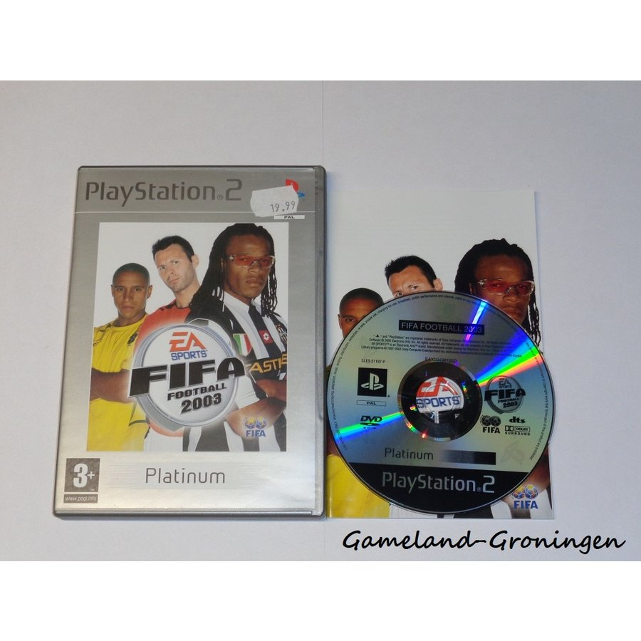 FIFA Football 2003 (Compleet, Platinum)