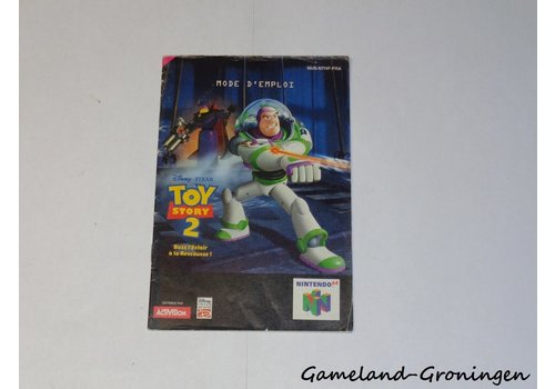 Disney's Toy Story 2 (Manual, FRA)
