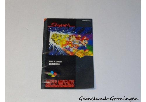 Super Gameboy (Handleiding, FAH)