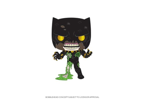 Marvel Zombies POP! - Black Panther