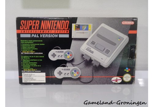 Super Nintendo - Super Mario World Pack (Compleet)